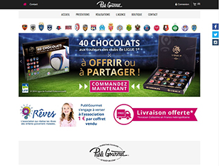 Conception de site de commerce en ligne à Vesoul / Besançon - marketing culinaire - expertise Prestashop et javascript